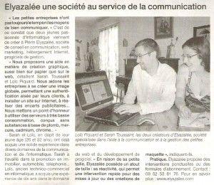 Elyazalée une société au service de la communication