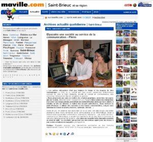 Maville.com : Elyazalée une société au service de la communication