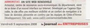 Armorstat. Un site web renouvelé.
