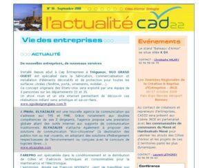 Elyazalée a participé à la refonte graphique du site www.armorstat.fr