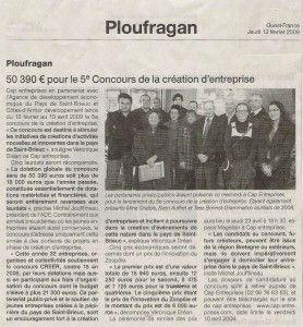Ploufragan - 50 390€ pour le 5ème Concours de la création d'entreprise