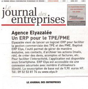 Agence Elyazalée : un ERP pour les TPE/PME