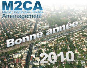 M2CA - Carte de voeux