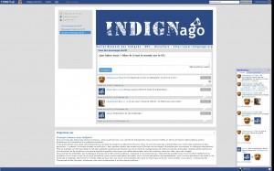 Indignago : réseau social des indignés