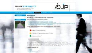 Site internet d'OJP Handicap