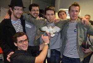 L'équipe d'Union Edition au Startup Weekend Bretagne 2012 - Le Télégramme