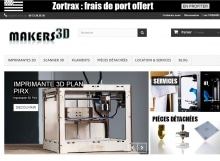Imprimantes 3D Makers 3D