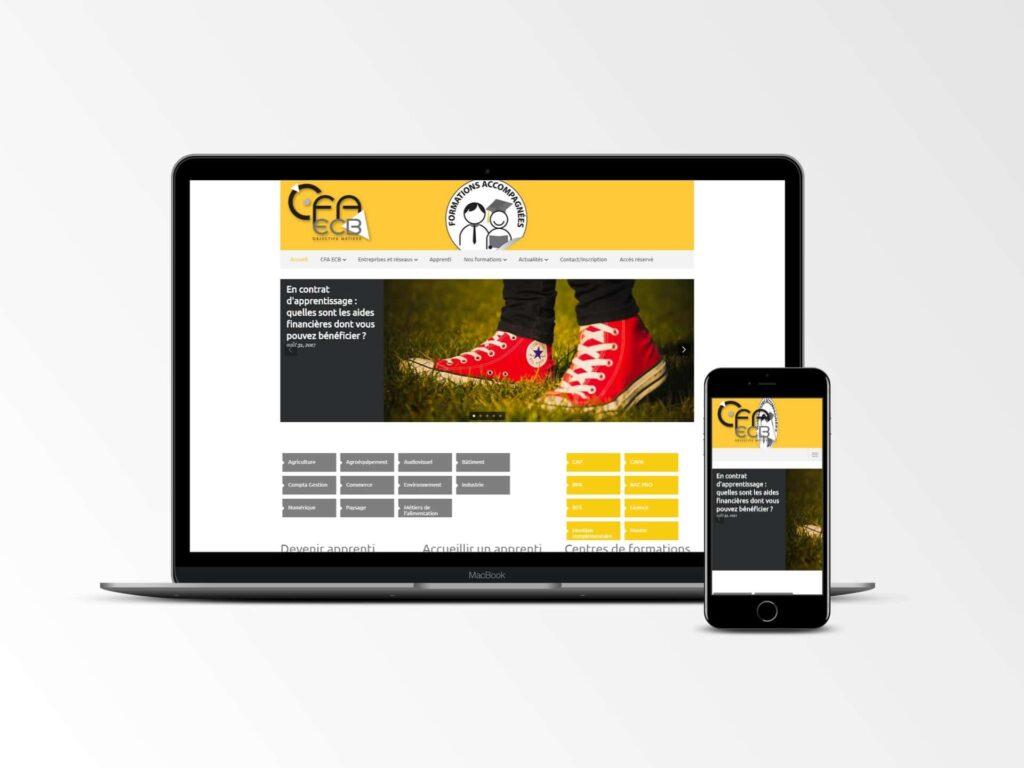 CFA ECB - Site internet