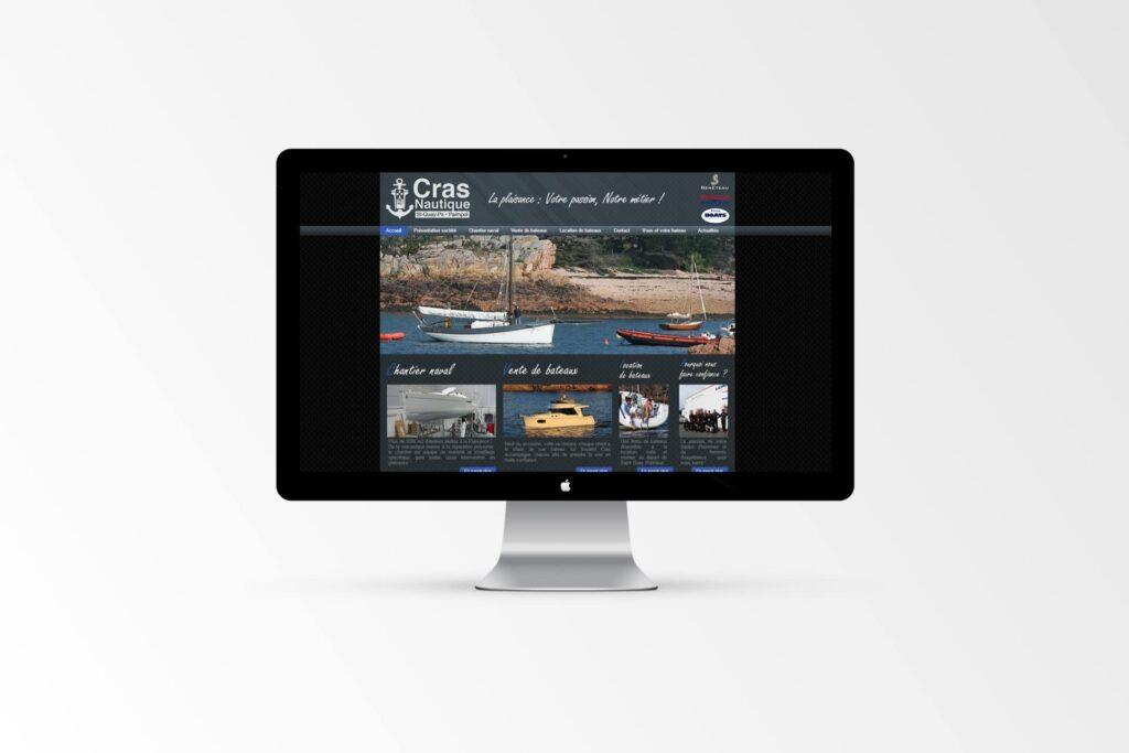 Cras Nautique - Site internet