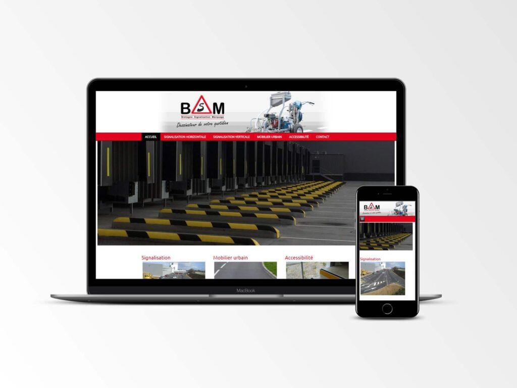 BSM 22 - Site internet