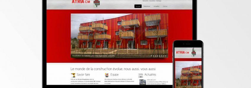 ATRIA CM - Site internet
