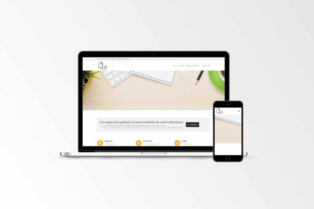 Avialor - Site internet