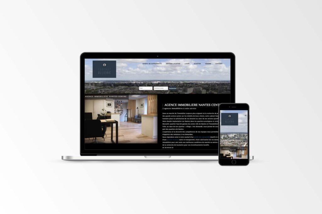 Cabinet Ollieric - Site internet